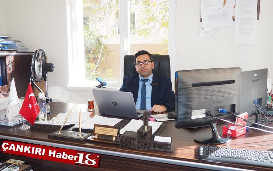 AFAD Çankırı'da Planlama,Zararazaltma ve İyileştirme Şube Müdürü