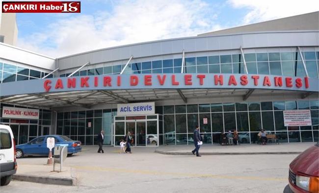 Çankırı Devlet hastanesi, Hastane Binası