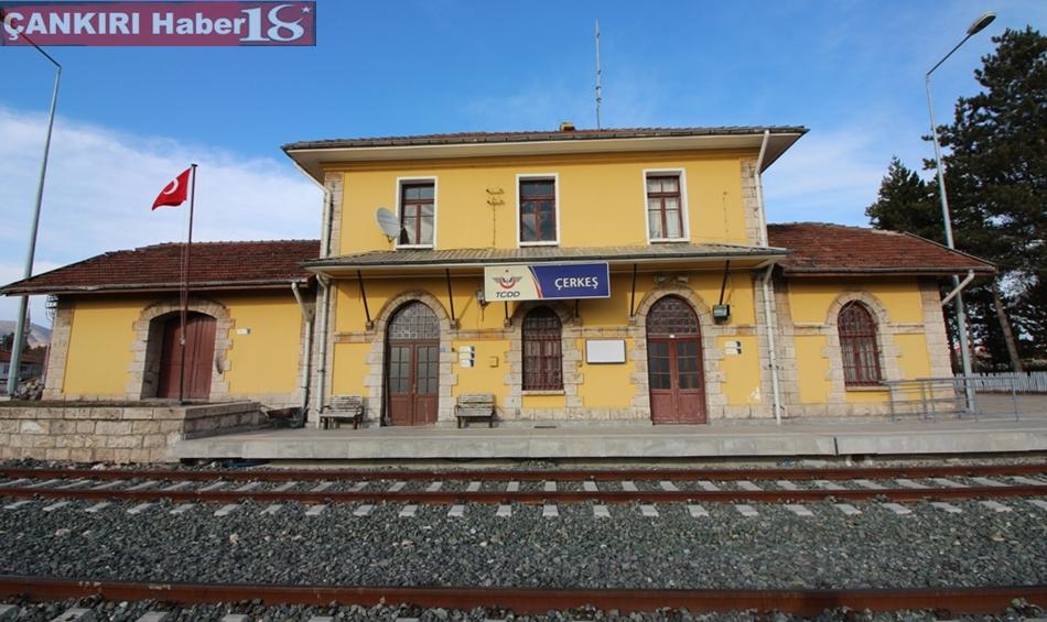 Çankırı Çerkeş Tren İstasyonu Çankırı Haber18 Çerkeş haberleri