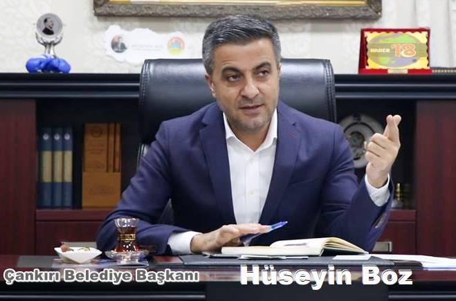 Çankırı Belediye, Başkan,Hüseyin Boz,