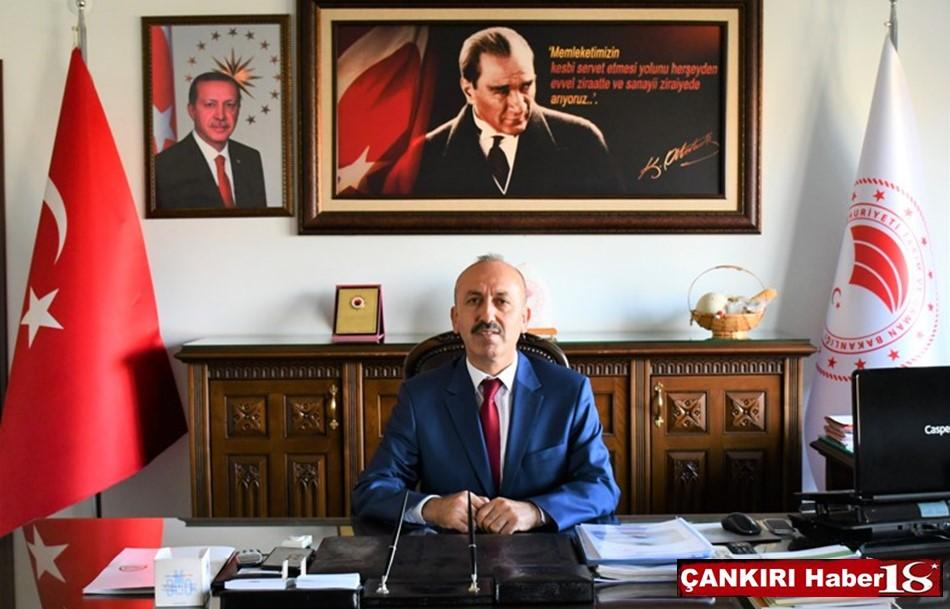 Çankırı  İl Tarım ve Orman Müdürü Dr. Hüseyin Düzgün