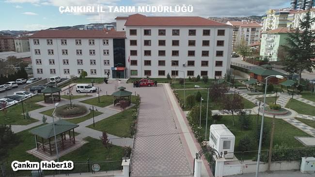 İl Tarım ve Orman Müdürlüğü - Çankırı - Haber18 - Çankırı -
