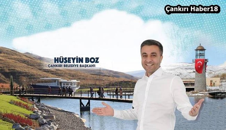 Çankırı haber18 Belediye haberleri - Çankırı Belediyesi Belediye Başkanı Hüseyin Boz haber18