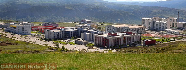 Çankırı Karatekin üniversite -  Rektör Hasan Ayrancı,Uluyazı kampüsü,