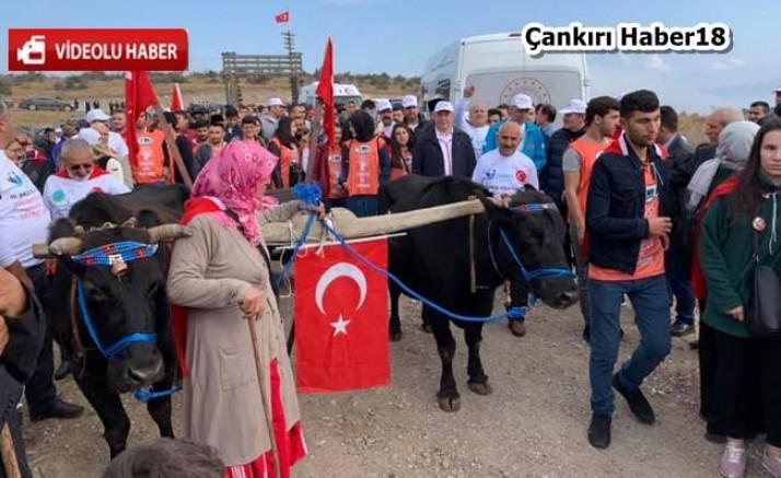 Çankırı - 10. İstiklal Yolu Yürüyüşü gerçekleştirildi - Genel Haber Çankırı haber18