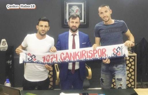 1074 Çnakırıspor'da İki Transfer - Spor - Çankırı - haber18