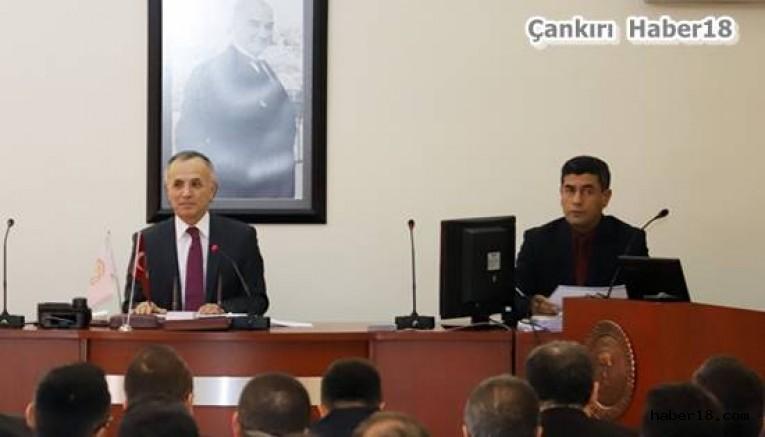 2019 Yılının İlk İl Koordinasyon Kurulu Toplantısı Yapıldı Çankırı Valilik - Çankırı
