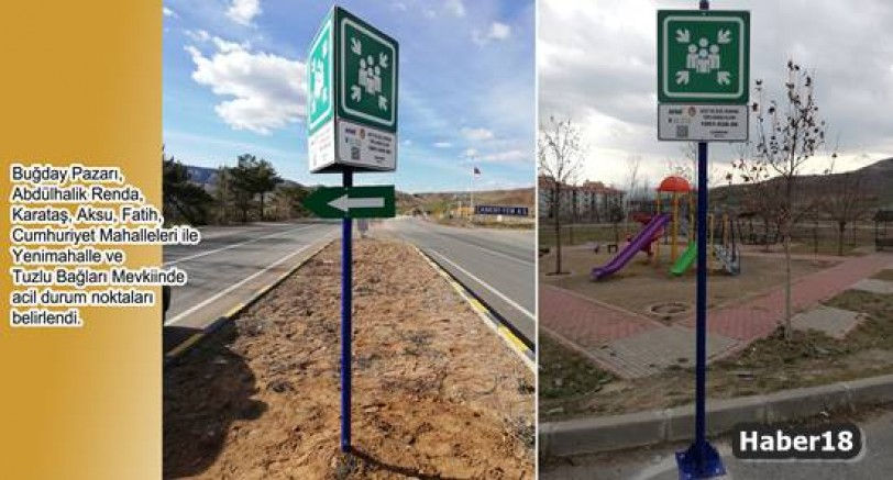 Çankırı - Acil Durum Toplanma Alanları Belirlendi - Belediye Haberleri haber18 haberleri