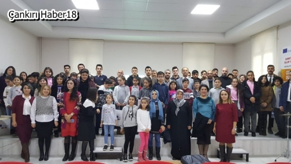 Ahmet Mecbur Efendi Bilim ve Sanat Merkezi TÜBİTAK Bilim Söyleşileri - Eğitim Çankırı haber18