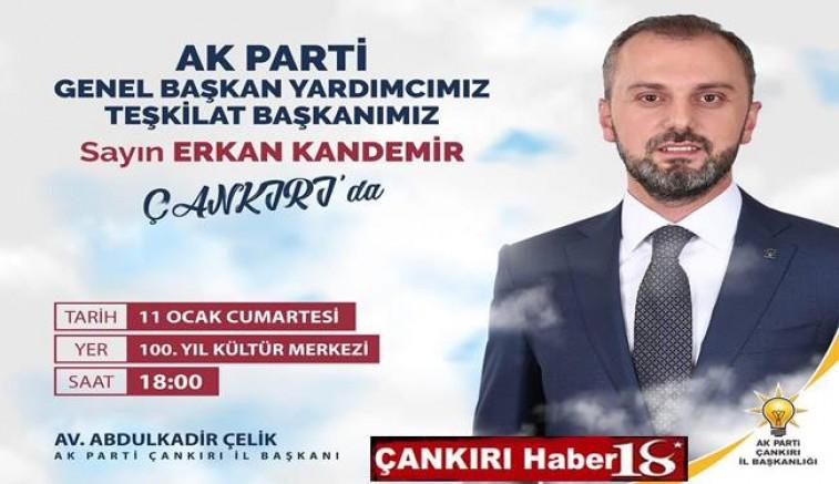 AK Parti Başkan Yardımcısı Kandemir İlimize Geliyor - Siyaset - Çankırı -Siyaset - Haber 18 - attorney at law ,boat yacht  wealth luxury