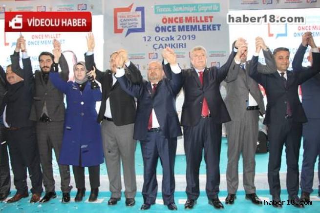 AK Parti Çankırı Belediye Başkan Adayları Açıkladı