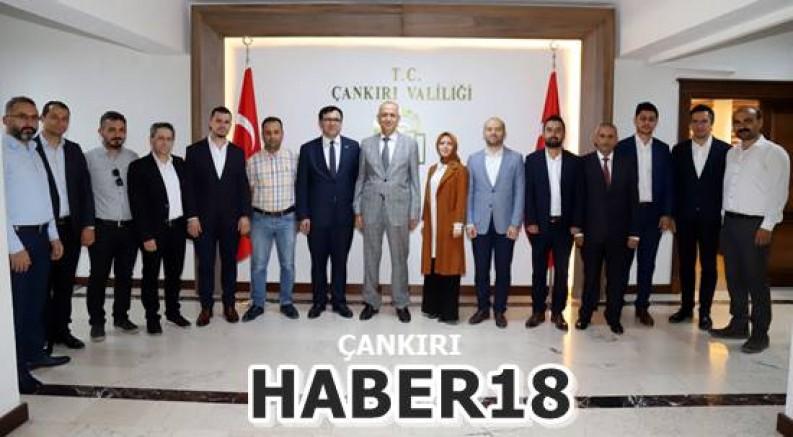 AK Parti Çankırı Yeni İl Yönetimi Vali Hamdi Bilge Aktaş'ı Ziyaret Etti - Çankırı siyaset Haber18 - attorney at law ,boat yacht  wealth luxury