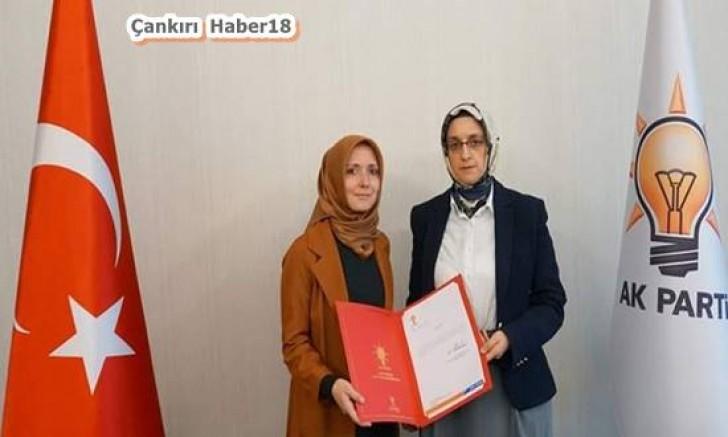 AK Parti Kadın Kolları Başkanı Atandı - Siyaset - Çankırı haber 18