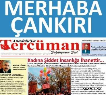 Çankırı haber18 - Anadolu'ya Tercüman Gazetesi Yayın Hayatına Başladı Genel - Çankırı resim görselleri