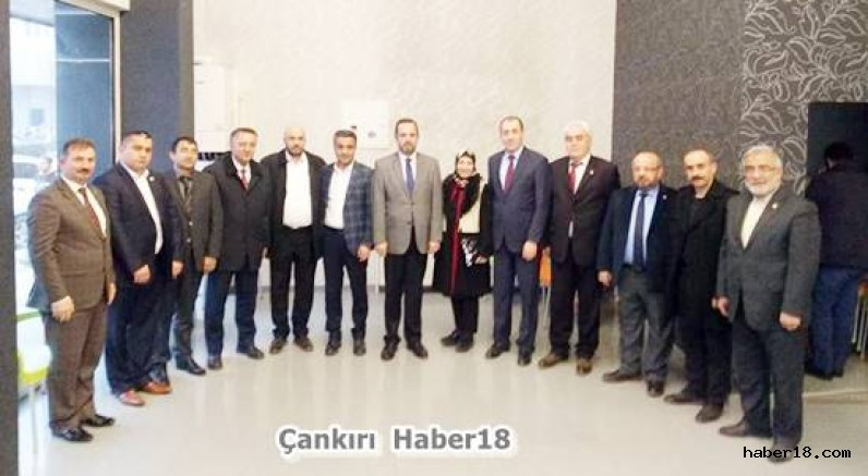 Ankara Çankırılılar Derneği Seçim Merkezini Ziyaret Etti Siyaset haber18 çankırı