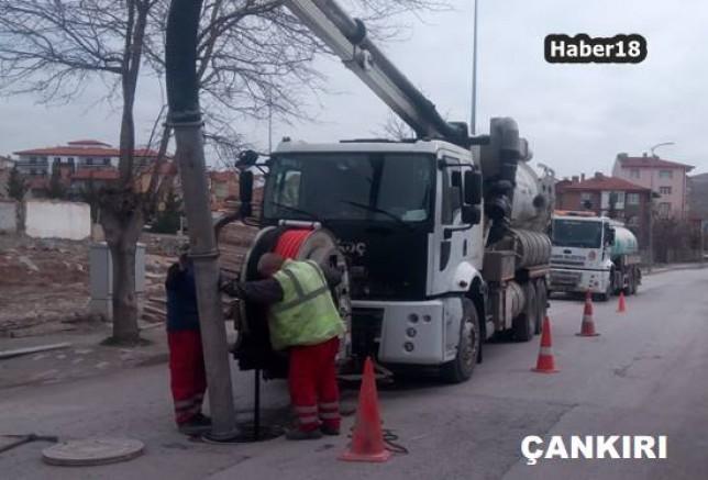 Çankırı Haber18 - Atık Su Kolektör Hatları 2. Etap Çalışmaları Başladı, Çankırı Belediyesi - Çankırı, haber