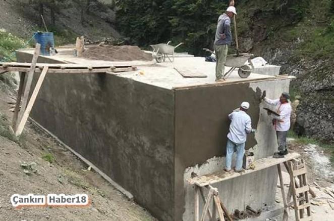 Çankırı - Babsa Grubu İçme Suyu Deposu Tamamlandı - Çankırı Yapraklı haber18 haberleri