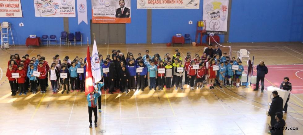Badminton İç Anadolu Grup Müsabakaları Başladı