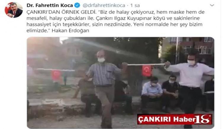 Sağlık Bakanı Fahrettin Koça, Bu Fotoğrafı Çankırı'dan örnek geldi notuyla paylaştı - Çankırı Siyaset Haber18 - attorney at law ,boat yacht  wealth luxury