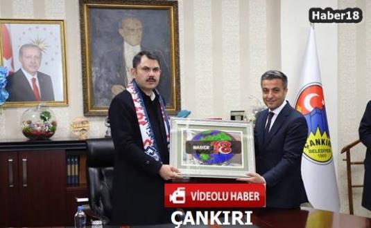 Çankırı - Bakan Kurum, Hüseyin Boz'un Projelerine Sahip Çıktı - Siyaset Haberleri haber18 haberleri