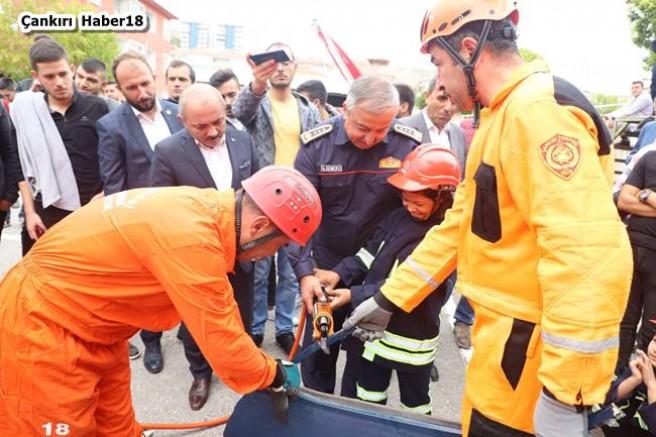 Başkan Esen Tüm İtfaiyecilerin İtfaiye Haftasını Kutladı - Belediye Haberleri - Çankırı - haber18