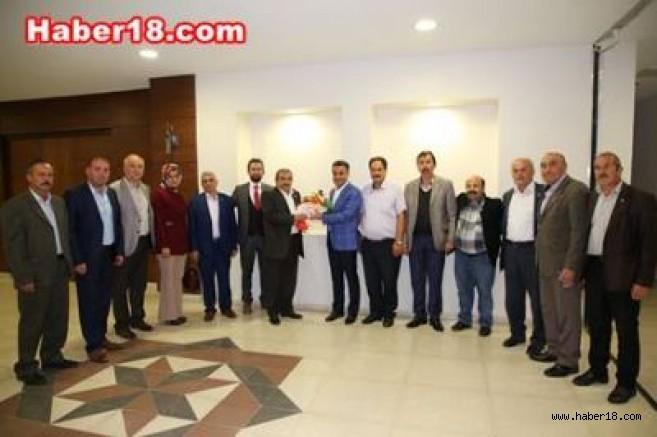 Başkan Hüseyin Boz, Muhtarlar Yerel Yönetimde Önemli