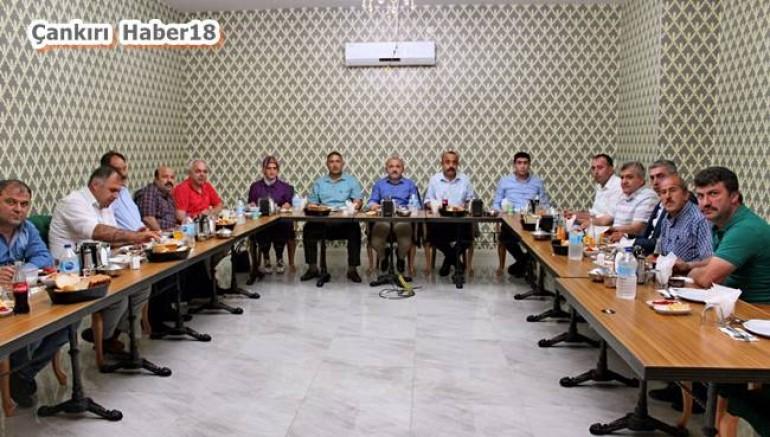 Çankırı - Başkan İsmail Hakkı Esen'den Muhtarlara Açık Çek - Belediye Haberleri haber18 haberleri