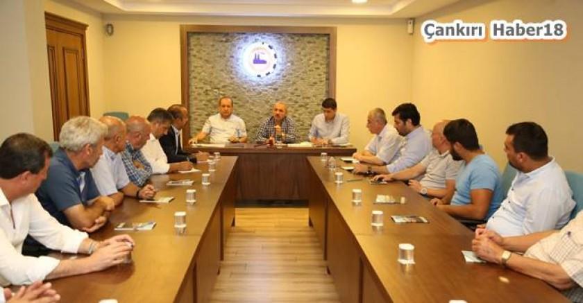 Başkan İsmail Hakkı Esen, Meslek Örgütleri ile Bir Araya Geldi - Belediye Haberleri - Çankırı haber 18