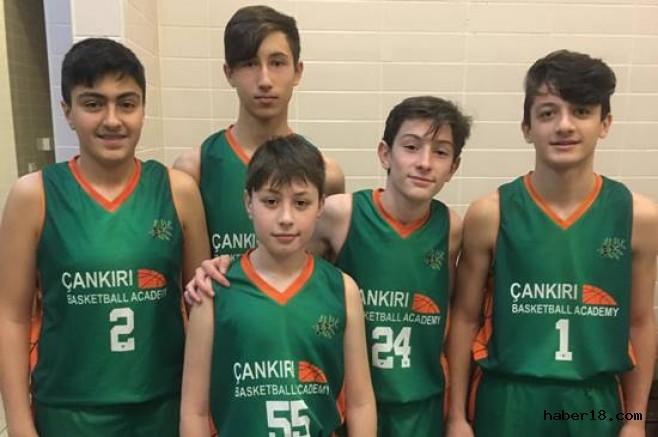 Basketbolcu Havuzu Tarama Programı Akademi Sporcuları katıldı Çankırı Spor haber18 çankırı
