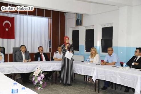 Çankırı - Bayramören'de Muhtarlar Toplantısı Gerçekleştirildi - Çankırı Bayramören haber18 haberleri