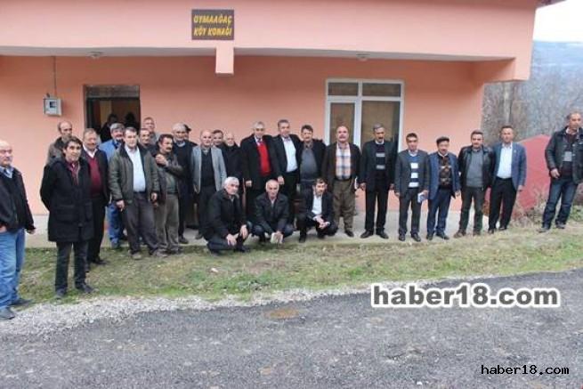 Çankırı - Bayramören İlçemizde  Aralık Ayı Muhtarlar Toplantısı Yapıldı - Bayramören - haber18