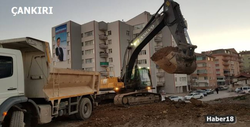Çankırı haber18 - Belediye Alparslan Türkeş Parkı Yapımına Başlandı Çankırı Belediyesi - Çankırı resim görselleri