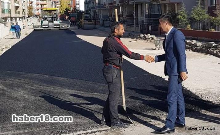 Çankırı haber18 - Belediye Bir Yılda 47 Bin Ton Asfalt Çalışması Yapıldı Çankırı Belediyesi - Çankırı resim görselleri