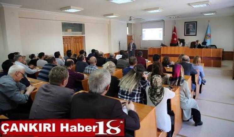 Belediye Çalışanları EBYS Eğitiminden Geçti - Belediye - Çankırı - Haber 18