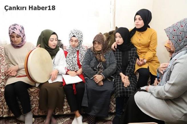 çankırı - Belediye Destekli Genç Yaşlı El Eleyiz  Projesi Başladı Çankırı Belediyesi