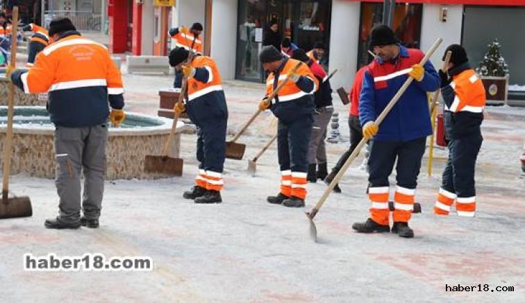 Çankırı haber18 - Belediye Ekiplerinin Teyakkuza Geçti Çankırı Belediyesi - Çankırı resim görselleri