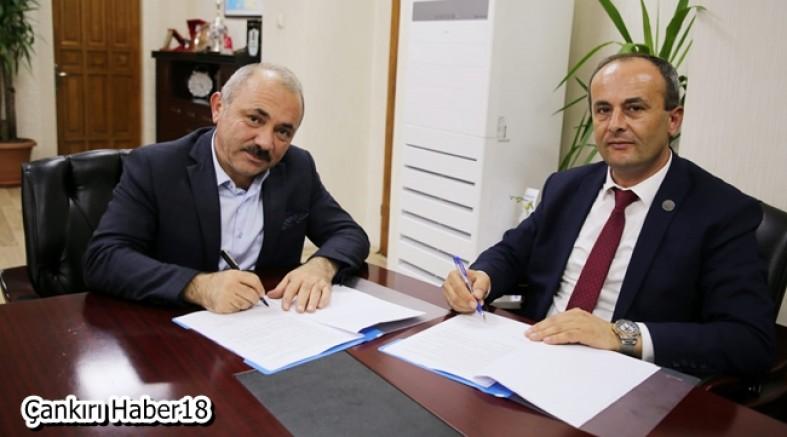 Belediye ve İl Milli Eğitim Müdürlüğü Arasında Ara Tatil İşbirliği Protokolü İmzalandı - Belediye - Çankırı - haber18