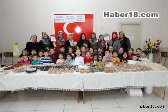 çankırı - Belediye Yerli Malı Haftasını Çocuklarla Kutladı Çankırı Belediyesi