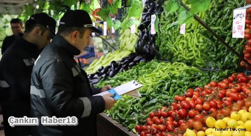 Belediye Zabıta Ekiplerinden Haksız Kazanç Denetimi Çankırı Belediyesi - Çankırı