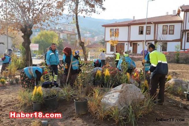 Belediyeden Tarihi Binalara Ortak Dinlence Alanı Çankırı Belediyesi - Çankırı