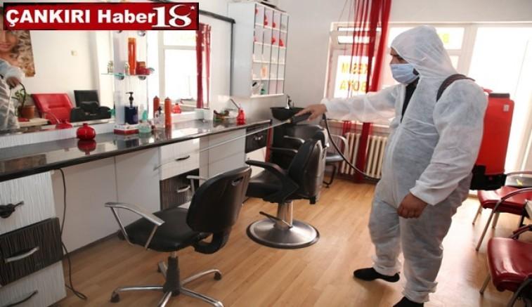 Berber, Kuaför ve Güzellik Salonları Dezenfekte Ediliyor - Belediye - Çankırı -Belediye - Haber 18 - attorney at law ,boat yacht  wealth luxury