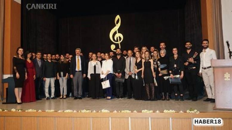 Çankırı - Bireysel Çalgı ve Birlikte Seslendirme  Konseri Gerçekleştirildi - Üniversite haber18 haberleri