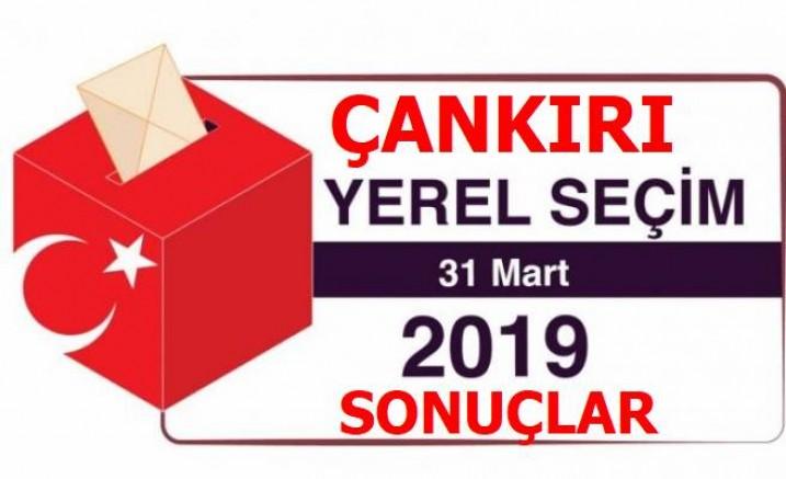 Çankırı 2019 Yerel Seçim Sonuçları Genel haberler - Çankırı
