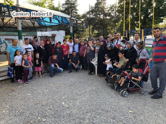 Çankırı - Çankırı Belediyesi Özel Çocukları Luna Parkta Götürdü - Belediye Haberleri haber18 haberleri