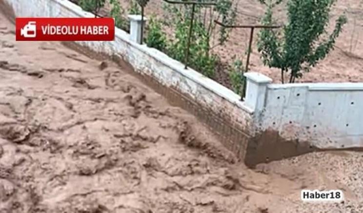 Çankırı - Çankırı Beştut'da  Dere Doldu Taştı - Genel Haber haber18 haberleri