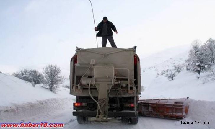 Çankırı Haber18 - İl Genelinde  82  Köy Yolu Kapalı, Genel Haberler - Çankırı, haber