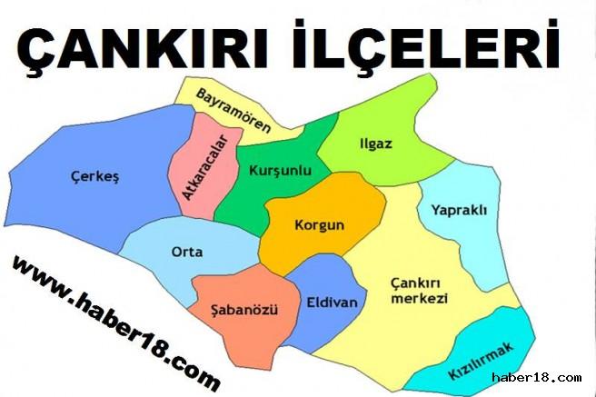 Çankırı'da Araç Sayısı 52.131 Oldu