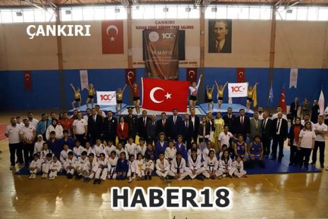 Çankırı haber18 - Çankırı'da Atatürk'ü Anma Gençlik ve Spor Bayramı Kutlandı Genel haberler - Çankırı resim görselleri