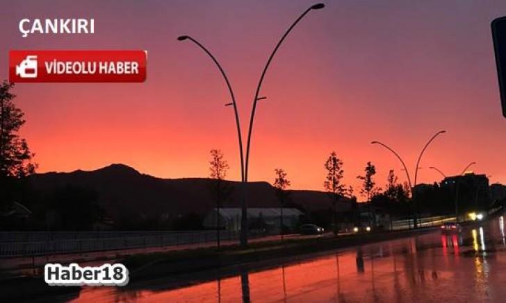 Çankırı - Çankırı'da Bu Görüntü Görenleri Hayran Bıraktı - Genel Haber haber18 haberleri