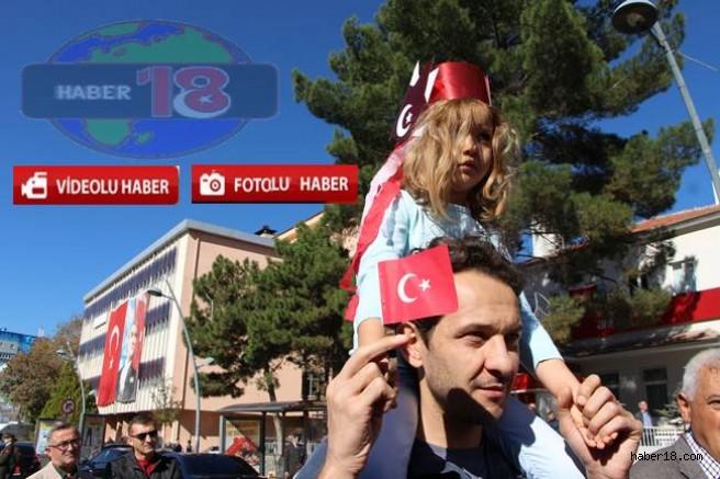 Çankırı'da Cumhuriyet Bayramı Coşkuyla Kutlandı